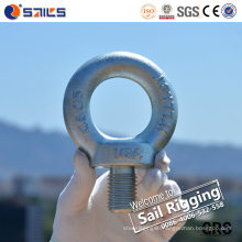 Electric Galvanized C15e Forged Eye Bolt DIN580